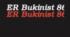 ER Bukinist 866 Bold Italic