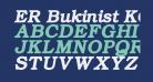 ER Bukinist KOI-8 Bold Italic