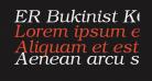 ER Bukinist KOI-8 Italic