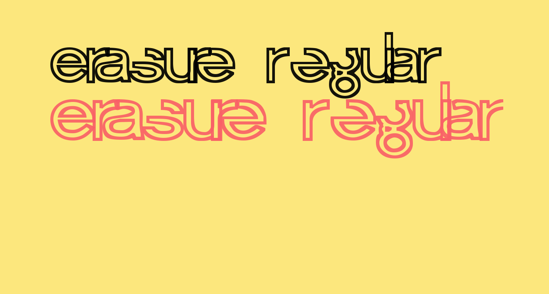 Erasure Regular