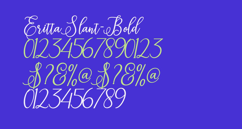 ErittaSlant-Bold