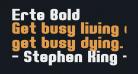 Erte Bold