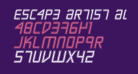 Escape Artist Academy Semi-Italic