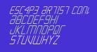Escape Artist Condensed Italic