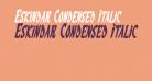 Eskindar Condensed Italic