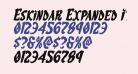 Eskindar Expanded Italic