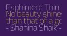Esphimere Thin