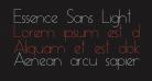 Essence Sans Light