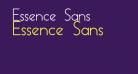 Essence Sans