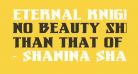 Eternal Knight Bold