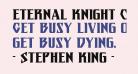 Eternal Knight Condensed