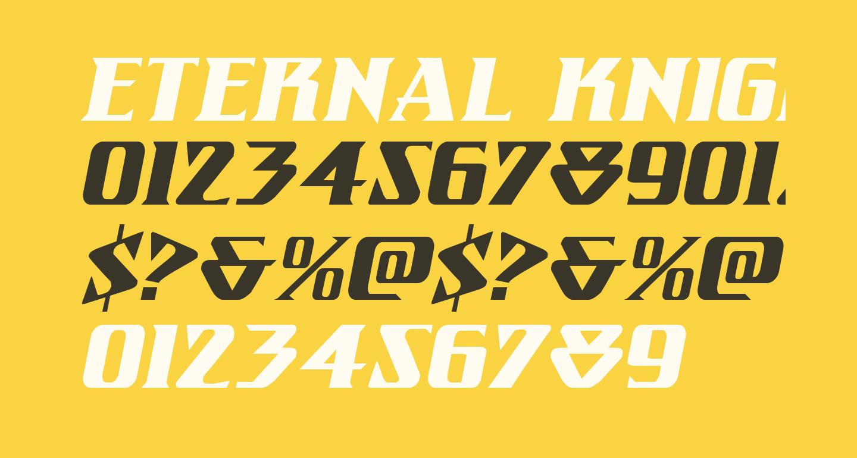 Eternal Knight Italic
