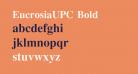 EucrosiaUPC Bold