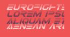 Eurofighter Gradient Italic