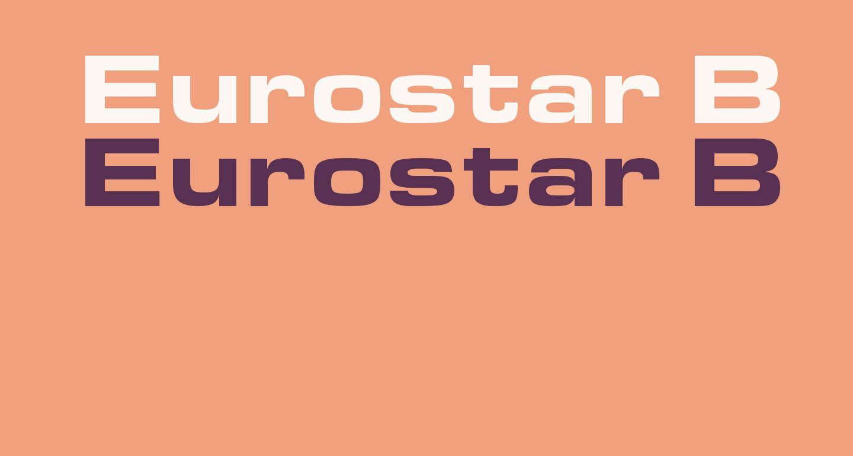 Eurostar Black Extended