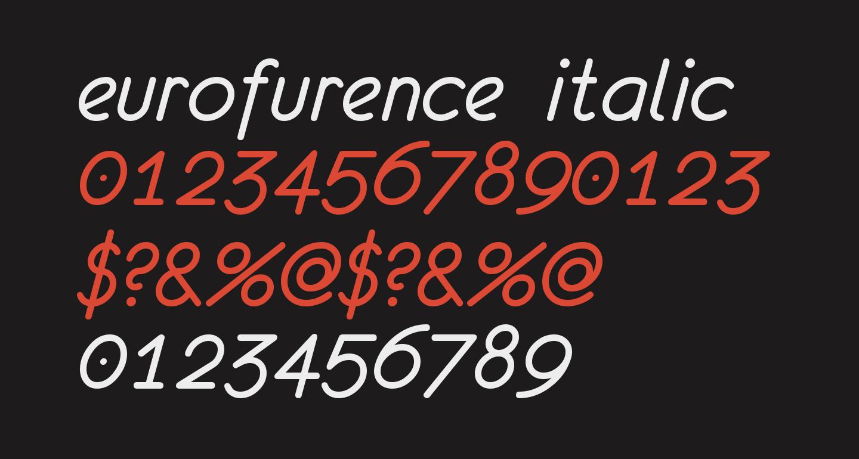 eurofurence  italic