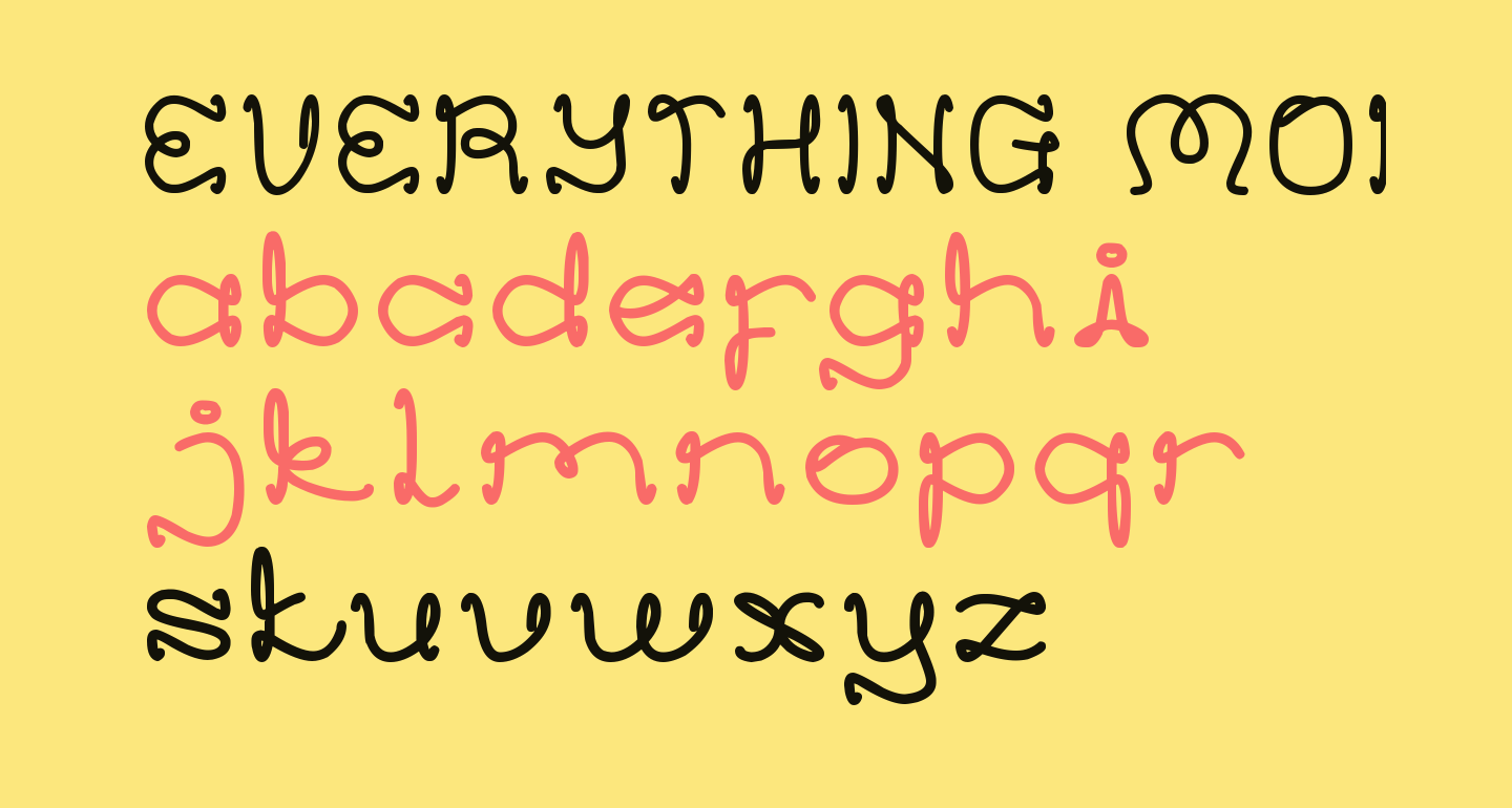 EVERYTHING MORE