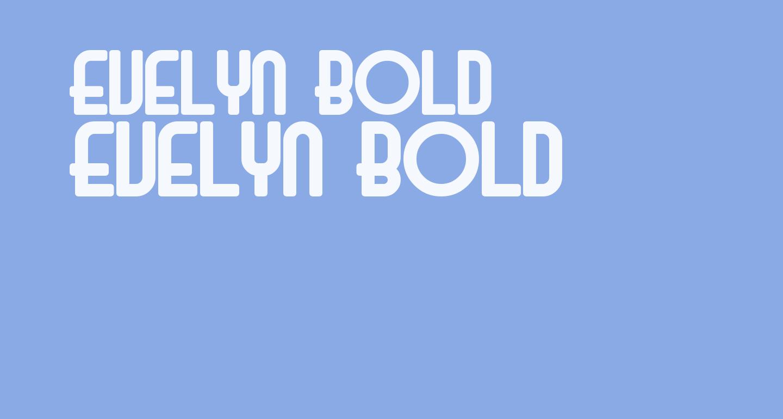 Evelyn Bold
