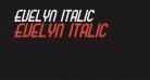 Evelyn Italic