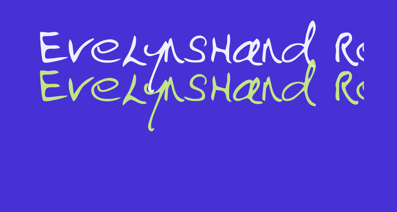 EvelynsHand Regular