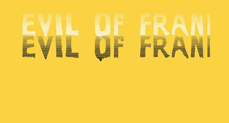 Evil Of Frankenstein Stripped