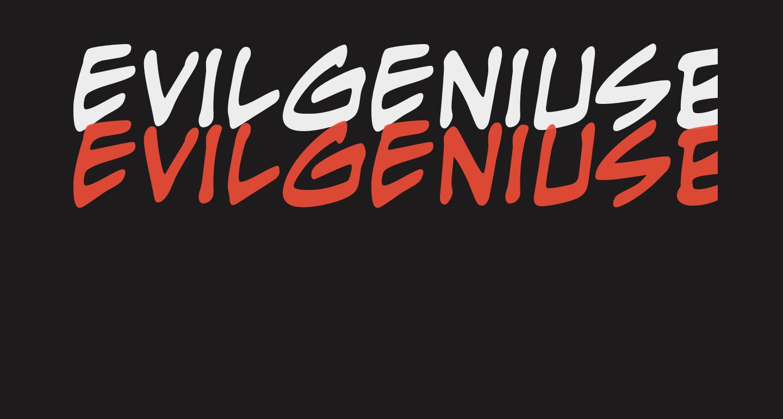 EvilGeniusBB-Bold