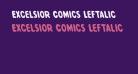 Excelsior Comics Leftalic