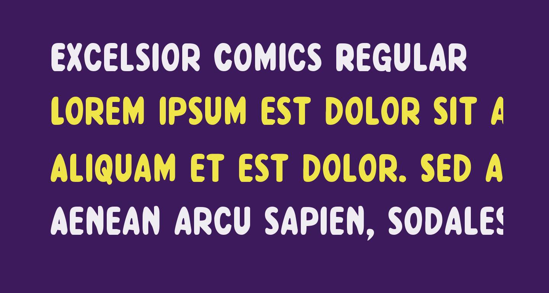 Excelsior Comics Regular