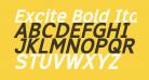 Excite Bold Italic