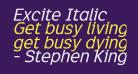 Excite Italic