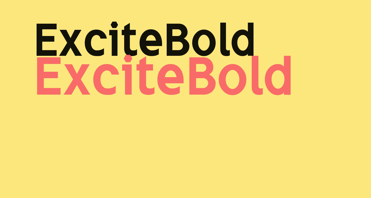 ExciteBold