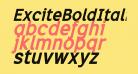 ExciteBoldItalic
