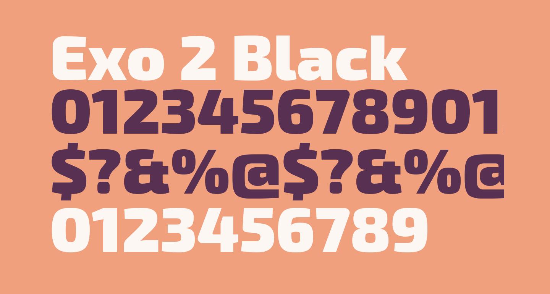 Exo 2 Black