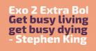 Exo 2 Extra Bold