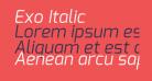 Exo Italic