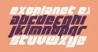 Exoplanet Expanded Italic