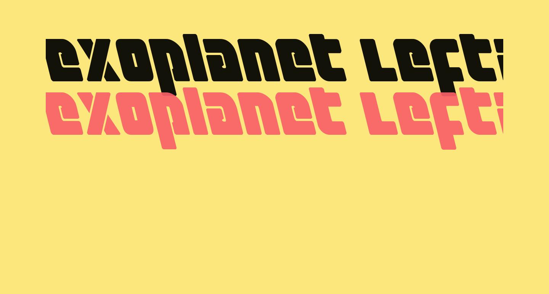 Exoplanet Leftalic