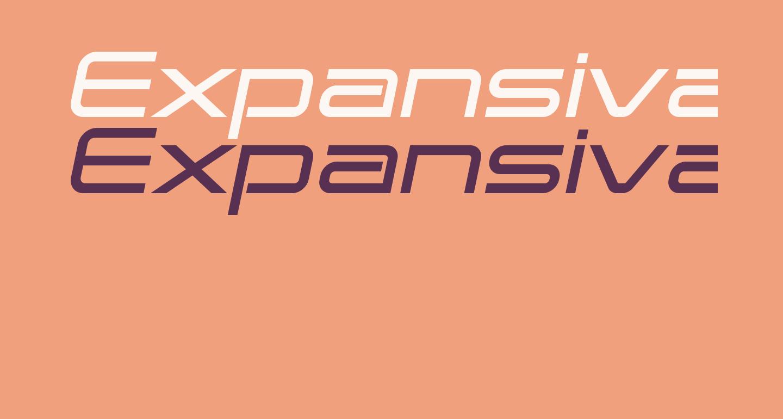 Expansiva-BoldItalic