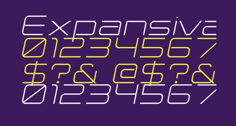 Expansiva-Italic