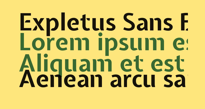 Expletus Sans Bold