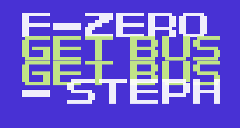 F-Zero GP Legend Font Regular