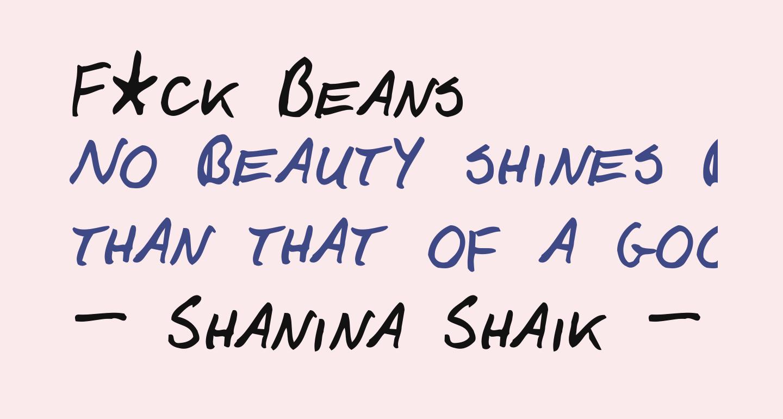 F*ck Beans