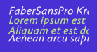 FaberSansPro-KraeftigKursiv