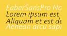 FaberSansPro-NormalKursiv