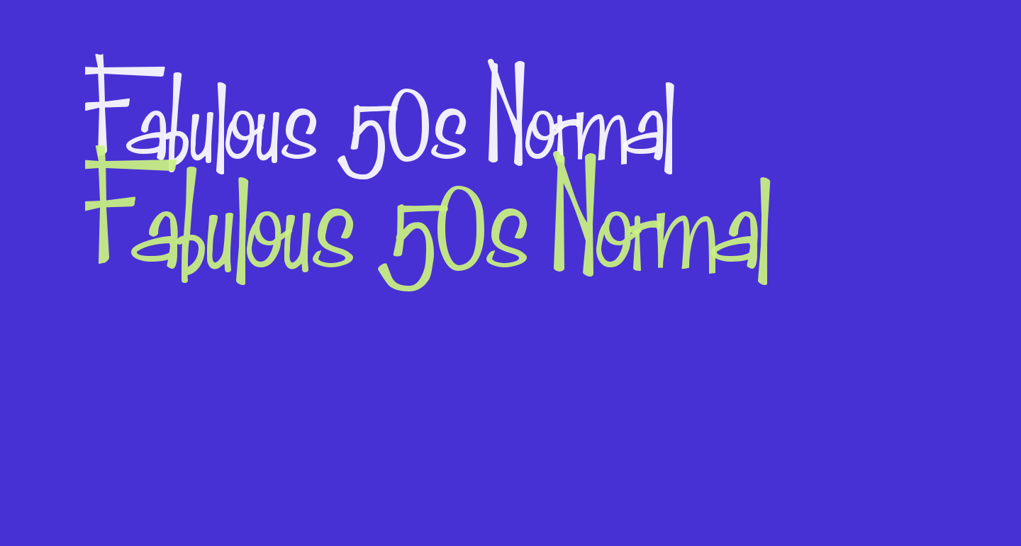 Fabulous 50s Normal