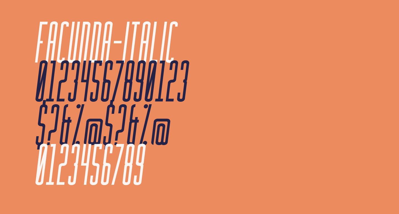 Facunda-Italic