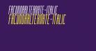 FacundaAlternate-Italic