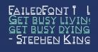 FailedFont 1   Linemorph