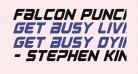 Falcon Punch Condensed