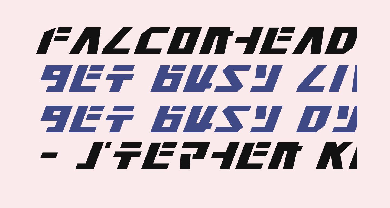 Falconhead Italic